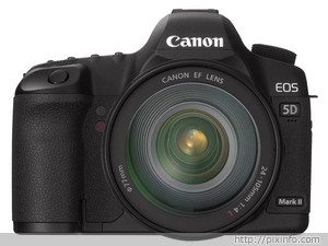Canon EOS-5D Mark II