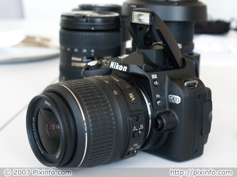 nikon d60 kit. camera, the Nikon D60.