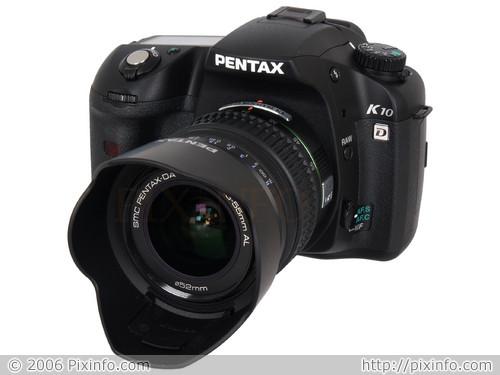 Pentax K10D és a 18-55mm-es kitobjektív