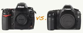 Nikon D700 vs. Canon EOS 5D