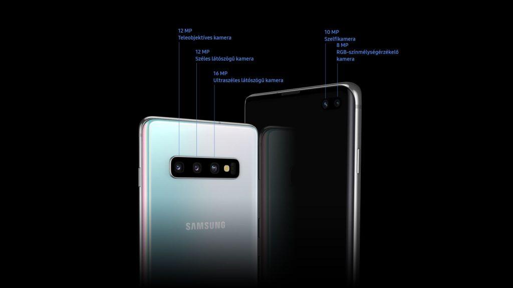 A Samsung Galaxy S10+ 5 kamerája