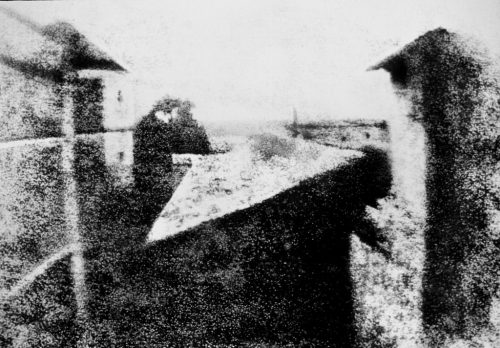Joseph Nicéphore Niépce - View from the Window at Le Gras